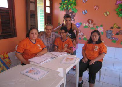Caucaia, Brasile (2013): Sorridete insieme a noi, progetto a favore dei bambini disabili