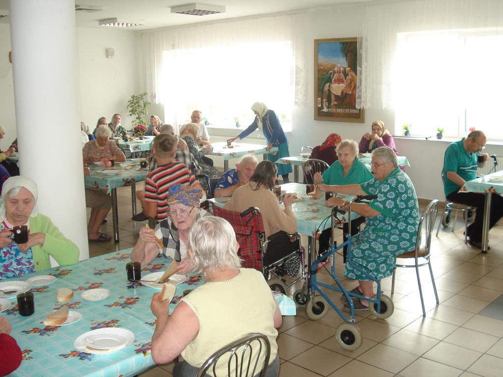 Lahiszyn, Bielorussia (2014), progetto a favore degli anziani