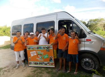 """Caucaia, Brasile (2013) """"Io dentro sono abile"""", progetto a favore dei bambini disabili"""