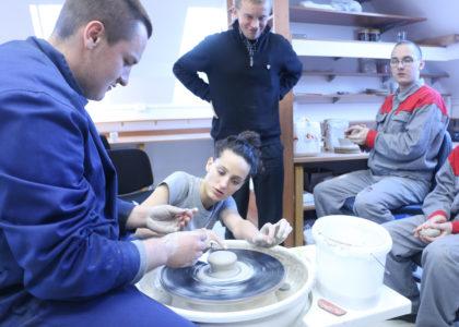 Varsavia, Polonia (2014): progetto ceramica per ragazzi a rischio
