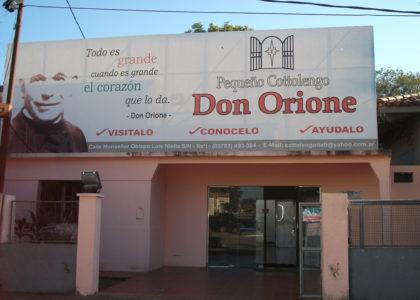 Itati, Argentina (2012): sostegno al piccolo cottolengo