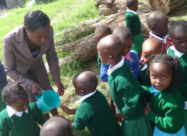 Kandisy, Kenya (2013): Basic nutrition for 60 children