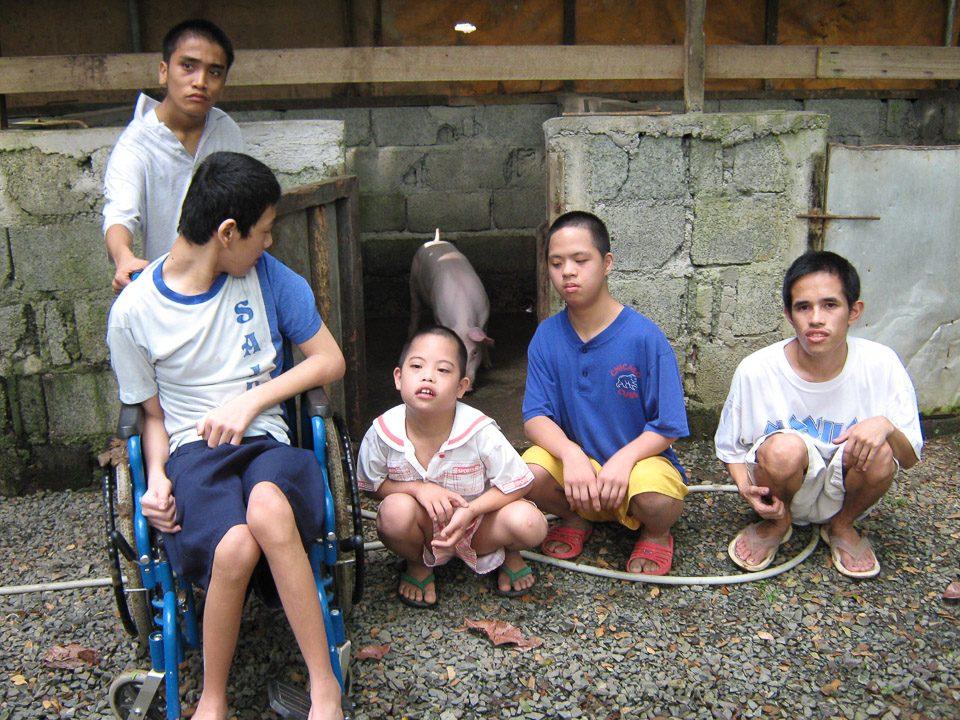 Montalban, Filippine (2007): Progetto formativo e pedagogico per giovani disabili filippini