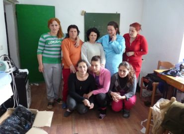Bardhaj, Albania (2010): Scuola di formazione professionale di sartoria
