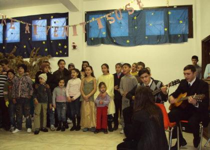 Iasi, Romania (2009): Le porte sono aperte a tutti i bambini del mondo