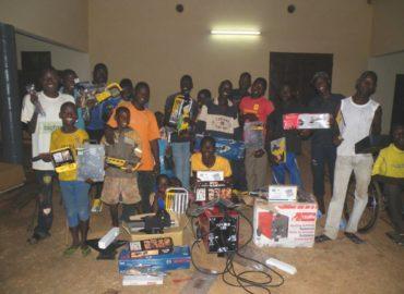 Bombouaka, Togo (2015): Centro di formazione artigianale per recupero disabili