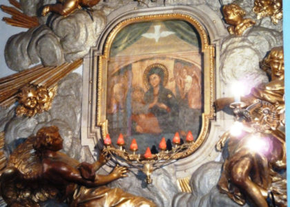 Pellegrinaggio al Santuario del Divino Amore. Roma