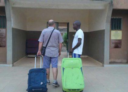 Ouagadougou, Burkina Faso (2016): Sostegno alla Casa di accoglienza Volontari.