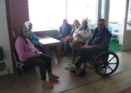 Lahiszyn, Bielorussia (2016): Sostegno alla Casa di Riposo per Anziani