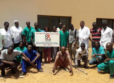 """Bombouaka, Togo (2017)  """"A partir d'un Laboratoire et de radiologie, donner une meilleure prise en charge sanitaire aux gens de Bombouaka"""""""