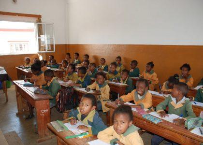 Anatihazo, Madagascar – Sostegno alla scuola elementare Jean XXIII (2018)
