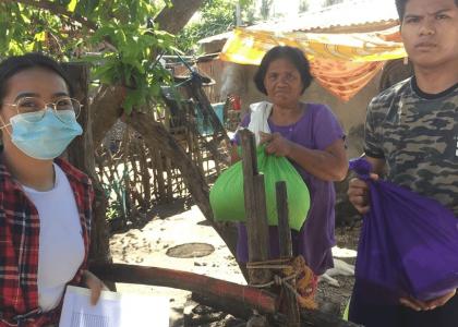 Aiuto alle famiglie povere delle Missioni Orionine nelle Filippine