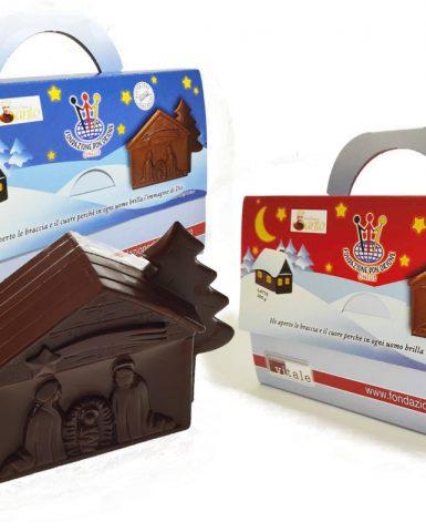 Campagna di Natale 2020 – Ordina e ritira in sede il presepe di Cioccolato