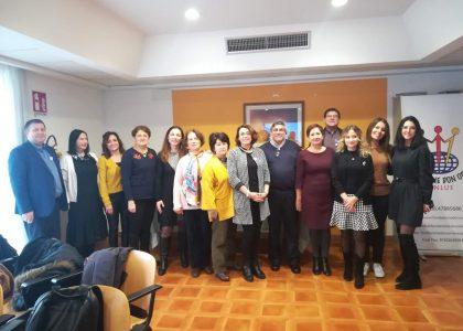 Progetto Erasmus +: City women, country women