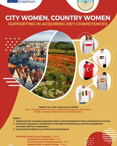Progetto City Women, Country Women: Good practice guide for shaping key competences of women