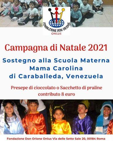 Campagna di Natale 2021
